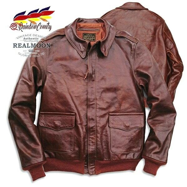 メンズファッション, コート・ジャケット RAINBOW COUNTRY JACKET A-2 ROUGH WEAR ROUGH WEAR CLOTHING Co.