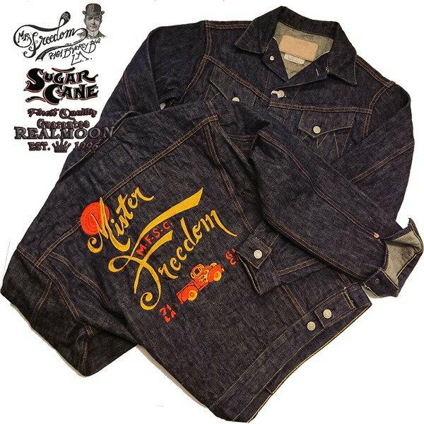 メンズファッション, コート・ジャケット MFSC SPORTSMAN 16.5oz.SUGAR CANE FIBER DENIM COWBOY JACKETMISTER FREEDOMSUGAR CANE No.SC14235