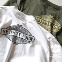 SEVENTY FOUR /S/S TEE /6.0oz HEAVY WEIGHT COTTON T SHIRT./