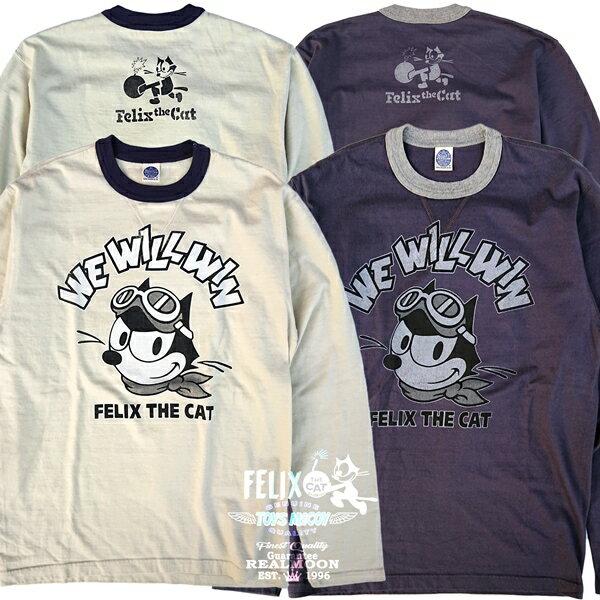トップス, Tシャツ・カットソー TOYS McCOY t MILITARY LONG SLEEVEFELIX THE CAT WE WILL WINNo.TMC2052