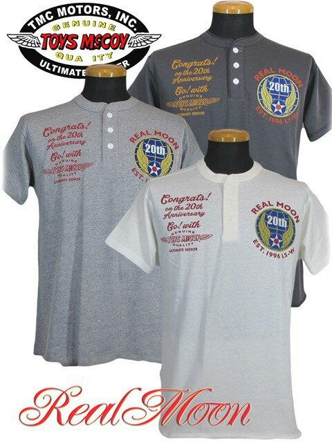 トップス, Tシャツ・カットソー  TOYS McCOY REAL MOONTOYS McCOY COLLABO HENLY TEE 20th ANNIVERSSARYNo.TMC1644