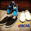 スペイン産モックトゥメッシュスニーカー/メンズ DICAS(...
