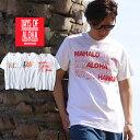 DAYS OF ALOHA スーベニアTシャツ ハワイ お土産 USAコットン100……