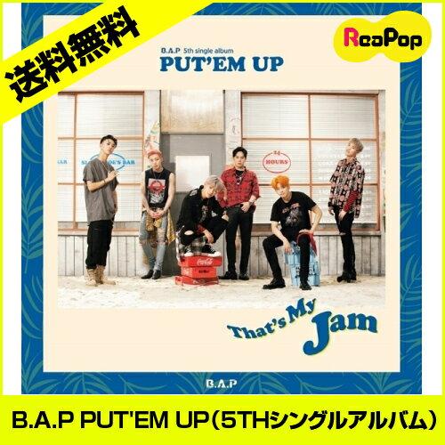 韓国(K-POP)・アジア, 韓国(K-POP) 2B.A.P() - PUTEM UP5TH CD 1 BAP bap898K-POPCD