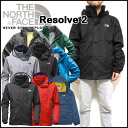 ノースフェイス メンズ ジャケット マウンテンパーカー RESOLVE2 JACKET ウィンドブレーカー S-XL NF0A2VD5