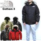 ノースフェイス ダウンジャケット メンズ THE NORTH FACE ゴッサム Gotham Down Jacket III 18秋冬新作 ファー付き XS S M L XL