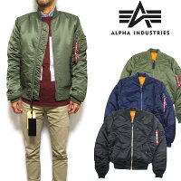 alpha/ma-1/アルファ/スリム/ミリタリージャケット
