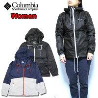 Columbia/コロンビア/レディース/マウンテンパーカー/ジャケット/ブラック/ウィメンズ