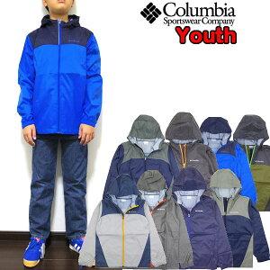 コロンビア ジャケット キッズ アウター Youth Glennaker Jacket 110 120 130 140 150 160 170cm 薄手 男の子 女の子 ウィンドブレーカー