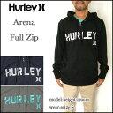 HURLEY/ハーレー/パーカー/メンズ/ARENA Full Zip Hoody/ジップフード/MFT0003690 05P03Dec16