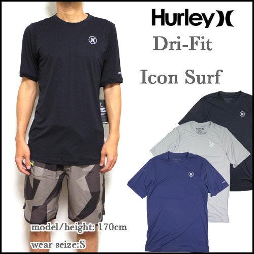 HURLEY ハーレー ラッシュガード メンズ DRI-FIT ICON SURF SHIRT Tシャツ サーフT 05P03Dec16