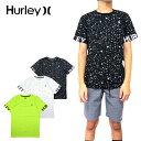 HURLEY ハーレー キッズ Tシャツ BOYS OVERSPRAY TEE ボーイズ ジュニア 半袖