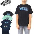 VANS バンズ キッズ Tシャツ ボーイズ BOYS CLASSIC LOGO FILL TEE 男の子 クラシック ロゴ 半袖 130 140 150 160 170