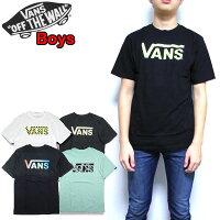 VANS/バンズ/キッズ/Tシャツ/キッズ/ボーイズ/BOYSCLASSICLOGOTEE/ジュニア/クラシックロゴティーシャツ/半袖