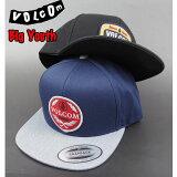 ボルコム キャップ キッズ 帽子 VOLCOM ジュニア YOUTH CRESTICLE CAP ボーイズ スナップバック
