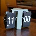 置き時計 フリップクロック ルフト オリーブ FLIP CLOCK LUFT OLIVE 置き掛け時計 アナログ時計 パタパタ時計 パタパタクロック レトロ ブルックリン アメリカン 送料無料