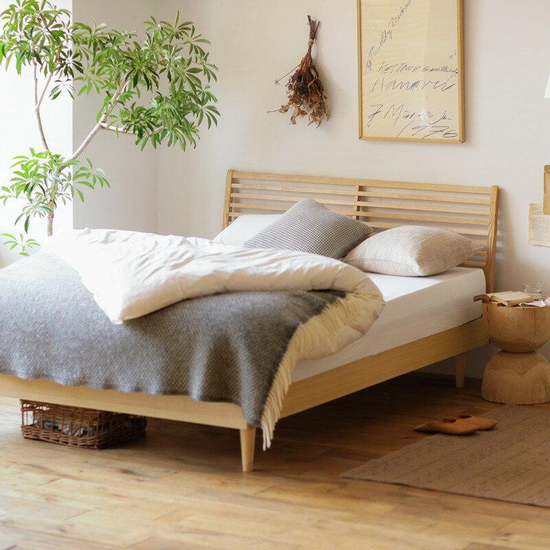 ベッド NOANA スタンダード シングルサイズ フレームのみ 寝具 木製 北欧 無垢材 ナチュラル 送料無料