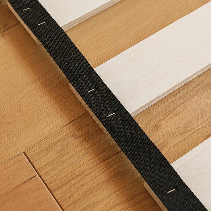 布団で使えるすのこベッドNOWLE高さ3段階(シングルサイズ・フレームのみ)送料無料(送料込)【夜間不可、日・祝日時間指定不可】