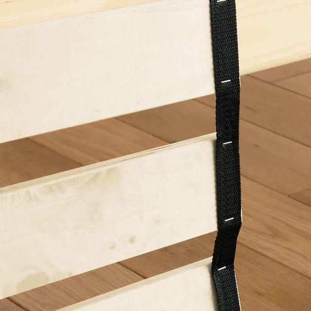 すのこベッドPolavisシングルサイズフレームのみ北欧ナチュラル木製布団高さ3段階送料無料