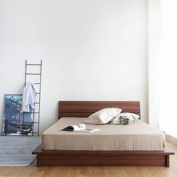 ゼブラシートデザインベッドTOOK(クイーンサイズ/フレームのみ)【送料無料】