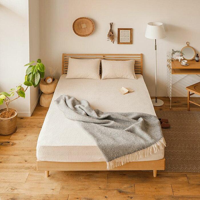 ボックスシーツ、ベッドシーツ、寝具、SALE、セールボックスシーツAIRYPILEシングルサイズ