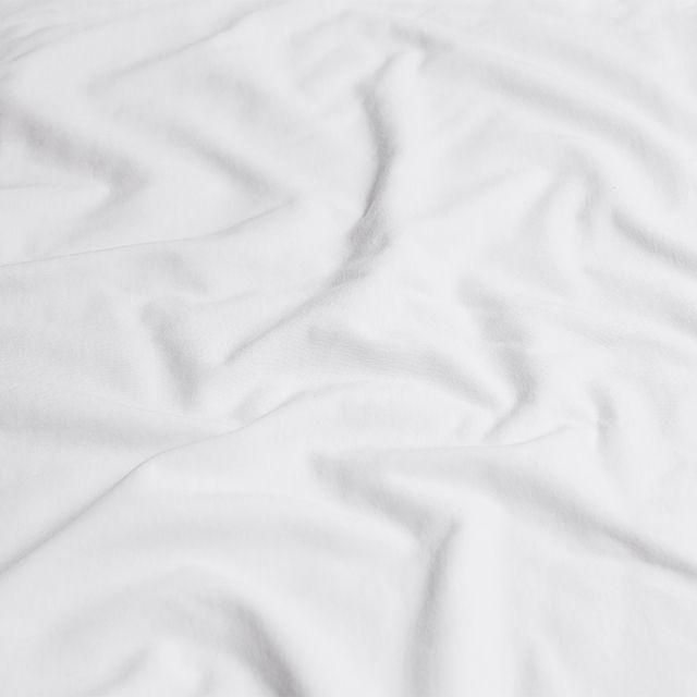 ボックスシーツベッドシーツPlainknitシングルサイズ綿100%マチ30ナチュラルあす楽対応