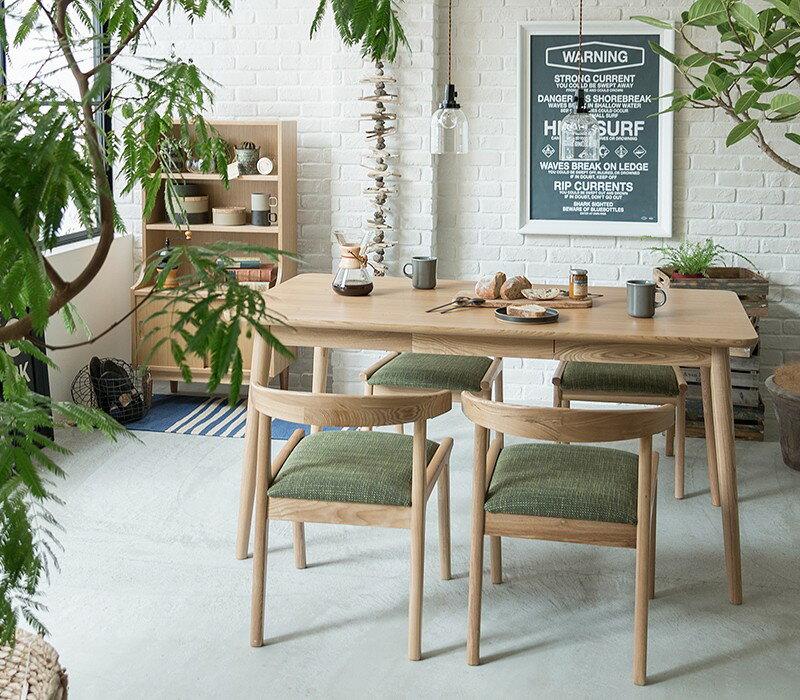 ダイニングテーブル Henry 西海岸 北欧 ナチュラル 木製 150 おしゃれ  即日出荷可能【4/24以降の注文は、5/7以降順次出荷】