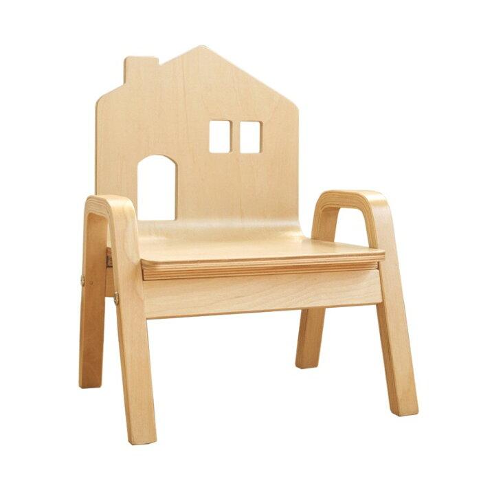 チェア椅子子供用北欧ナチュラル木製キッズチェアーおうちのこいす