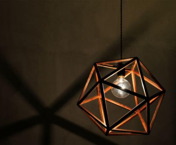 照明 ペンダントライト ヴィンテージ 西海岸 インダストリアル 北欧 ブラウン 木製 おしゃれ CONFETTI 送料無料 あす楽対応