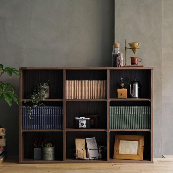 本棚 シェルフ ラック 120 ヴィンテージ インダストリアル 西海岸 ブルックリン 木製 おしゃれ WALTER 即日出荷可能