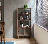 本棚 キャビネット シェルフ Tomte Sサイズ 北欧 ヴィンテージ インダストリアル 木製 ウォールナット おしゃれ 送料無料即日出荷可能