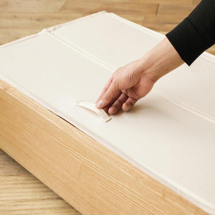 ベッド木製ベッドNOANA追加用引き出し(ベッド下収納セット)送料無料時間指定不可即日出荷可能