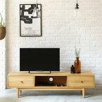 テレビ台 テレビボード Henry 西海岸 北欧 ヴィンテージ ナチュラル 木製 180 おしゃれ 送料無料 夜間指定不可 即日出荷可能