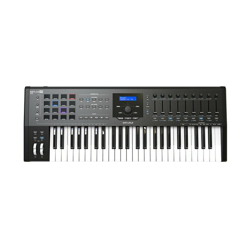 DAW・DTM・レコーダー, MIDIキーボード Arturia KEYLAB 49 MKII Black49