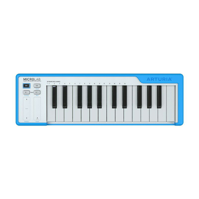 DAW・DTM・レコーダー, MIDIキーボード Arturia MICROLAB BL