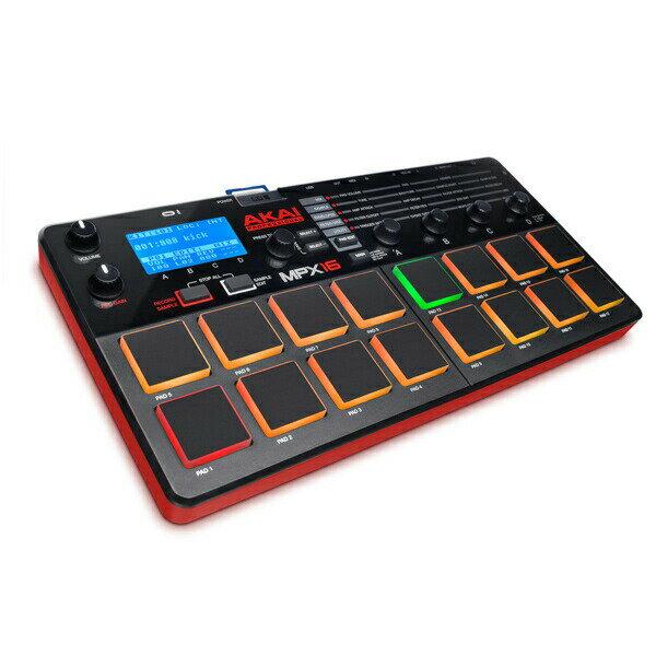 DAW・DTM・レコーダー, MIDIキーボード AKAI MPX16