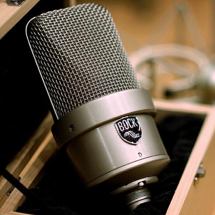 Bock Audio Bock M50 (Custom Shopシリーズ) 【ヴィンテージKK84カプセル使用、世界限定1ペア】【ペア・無指向性・真空管マイク】【お取り寄せ商品・納期別途ご案内】※代金引換不可
