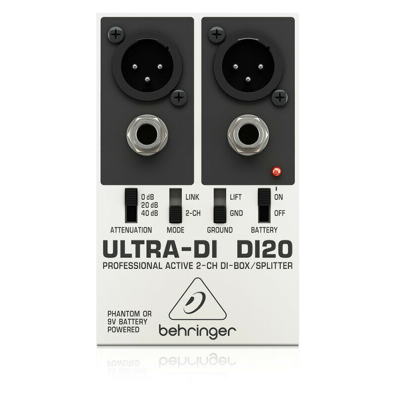 DAW・DTM・レコーダー, その他 BEHRINGER DI20 ULTRA-DI