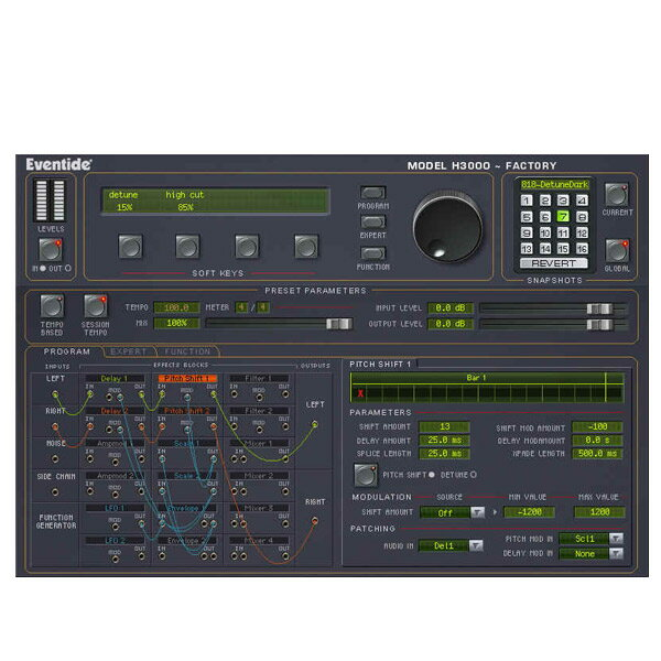 PCソフト, 音楽制作 Eventide H3000 Factory Native()()