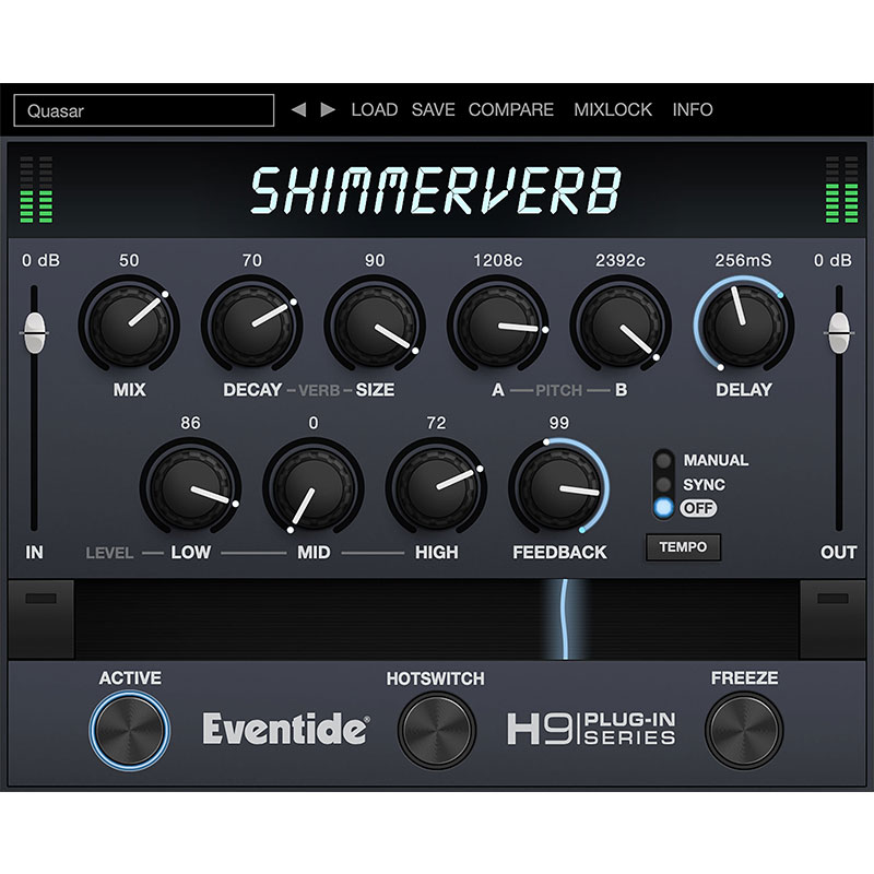PCソフト, 音楽制作 Eventide ShimmerVerb()()