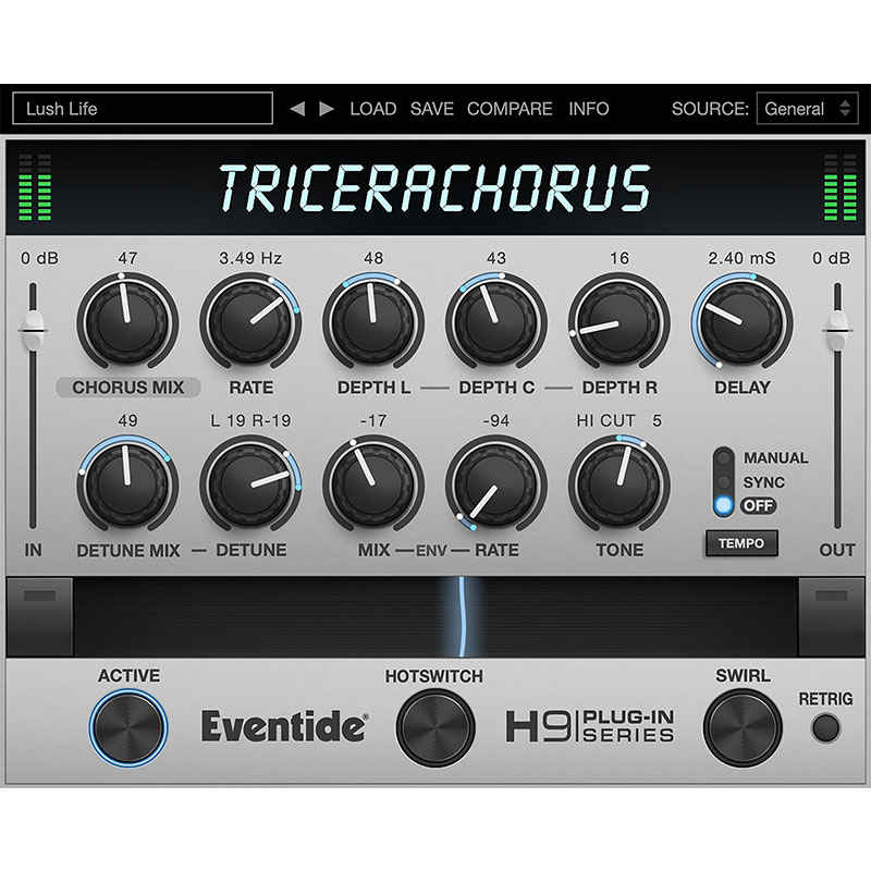 PCソフト, 音楽制作 Eventide TriceraChorus()()