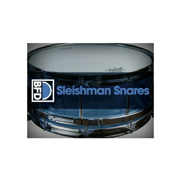 PCソフト, 音楽制作 fxpansion BFD32 Expansion Pack: Sleishman Snares()