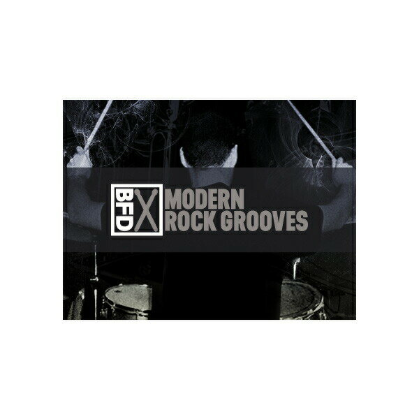 PCソフト, 音楽制作 fxpansion BFD3 Groove Pack: Modern Rock Grooves()