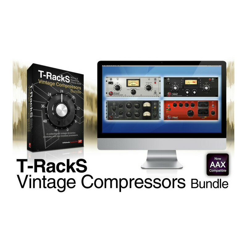 PCソフト, 音楽制作 IK Multimedia T-RackS Vintage Compressors Bundle()