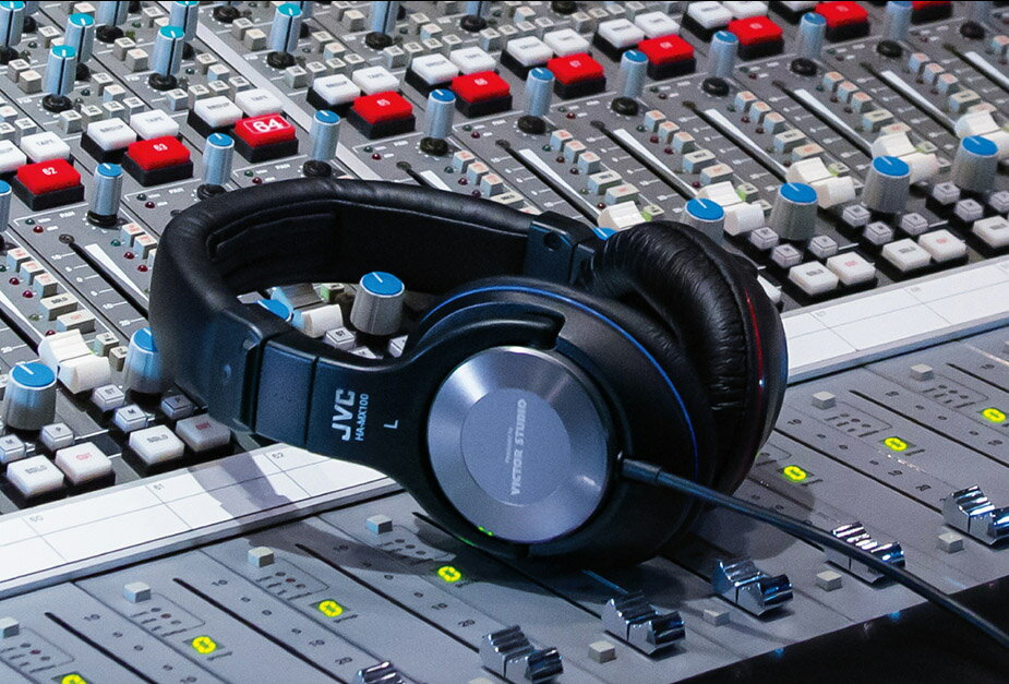 スタジオモニターヘッドフォン「HA-MX100-Z」