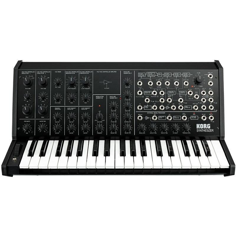 ピアノ・キーボード, キーボード・シンセサイザー KORG MS-20 FS(MONOPHONIC SYNTHESIZER)BLACK p5 Fluid Audio C5C5W(pair)