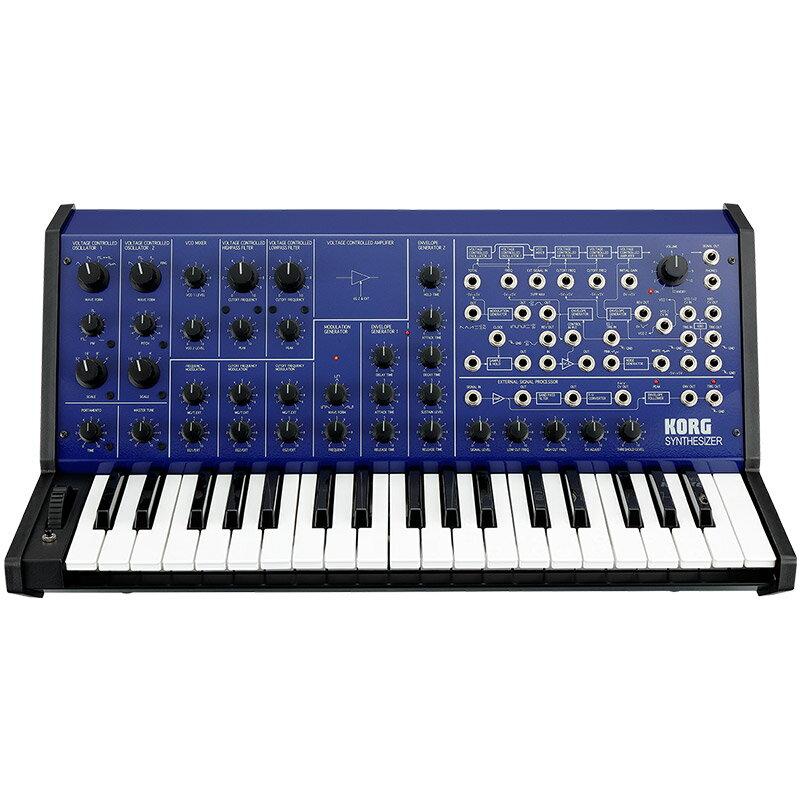 ピアノ・キーボード, キーボード・シンセサイザー KORG MS-20 FS(MONOPHONIC SYNTHESIZER)BLUE p5 Fluid Audio C5C5W(pair)