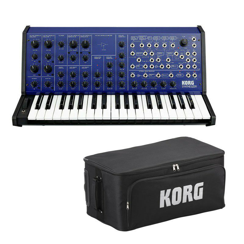 ピアノ・キーボード, キーボード・シンセサイザー KORG MS-20 FS(MONOPHONIC SYNTHESIZER)BLUE p5