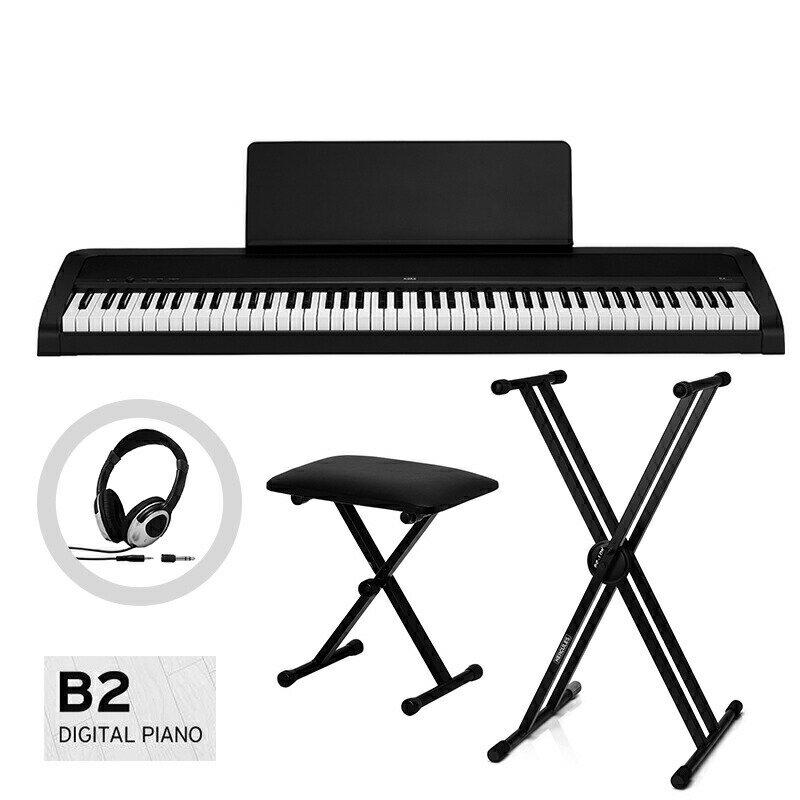 ピアノ・キーボード, 電子ピアノ KORG B2-BK() XXDC-P1