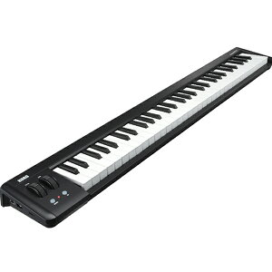 USBバス・パワーで駆動するUSB MIDIキーボードKORG microKEY-61【KORG Legacy Collection スペ...